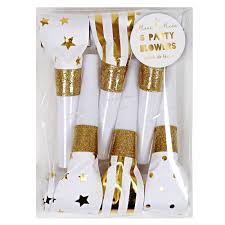 new years party blowers meri new year party blowers gold