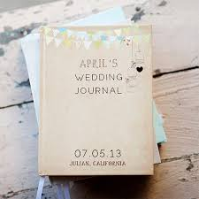 wedding planning journal wedding journal notebook wedding planner personalized