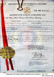 fake certificates manila