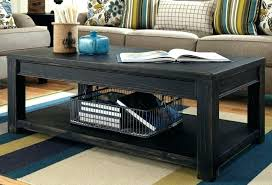 black coffee and end tables ashley furniture black coffee table impressive awesome lift top