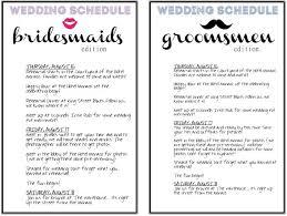 Program Template For Wedding Wedding Agenda Reception Program With Decorations Best 25