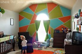 Accent Wall by Bright And Bold Accent Wall U0026 Frogtape Earn Your Stripes Contest