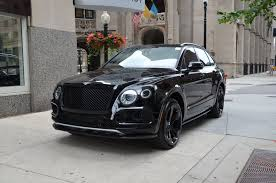black and gold bentley 2018 bentley bentayga black edition stock b960 for sale near