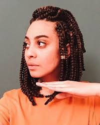 box plaits hairstyles 30 short box braids hairstyles for chic protective looks