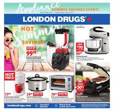 london drugs weekly flyer appliance summer savings event jul
