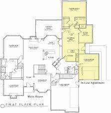 one story house plan luxury one story house plans with inlaw apartment house plan
