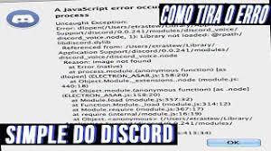 discord javascript error how to fix discord javascript error a javascript error occurred in