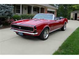 camaro 1967 convertible 1967 chevrolet camaro ss for sale on classiccars com 28 available
