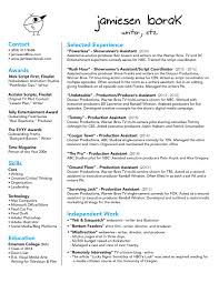 Production Sample Resume Tvnew Media Producer Page1 Tv Executive Producer Resume Sample