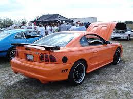 1995 Black Mustang 1996 Mustang Gt