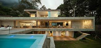 Brazilian Interior Design by Luxurious Modern House In Rio De Janeiro Brazil By Studio Arthur