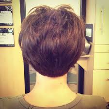 show pictures of a haircut called a stacked bob short stacked bob haircut by debbie at encounters salon short