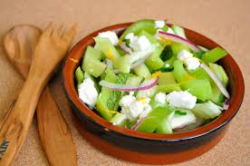 celery salad celery salad with feta and mint tomato tango