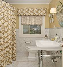 Bathroom Curtain Ideas For Windows Bathroom The Most Popular Ideas For Bathroom Curtains Diy Arched