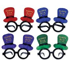 new year party supplies bulk new year eyeglasses party supplies happy new year top hat