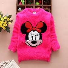 2015 new arrival autumn winter baby toddler minnie mouse