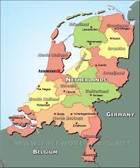netherlands map images the netherlands political map