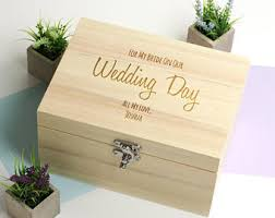 wedding gift keepsake box wedding keepsake etsy