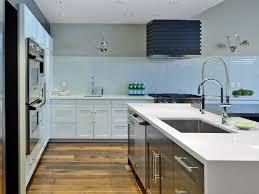 No Upper Kitchen Cabinets Hickory Wood Ginger Prestige Door Kitchen With No Upper Cabinets