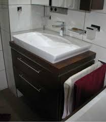 badezimmer mã nchen waschbecken ohne hahnloch mit unterschrank arcom center grosser