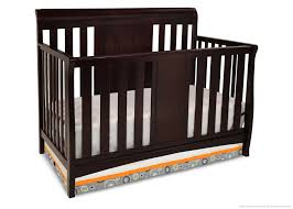Davinci Kalani 4 In 1 Convertible Crib by Dark Wood Crib Baby Boy Disney Nursery Themes Varnished Wood Baby