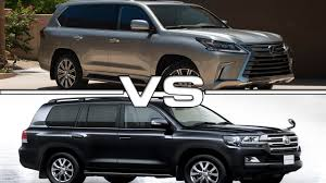 lexus toyota car 2016 lexus lx 570 vs 2016 toyota land cruiser 200 youtube
