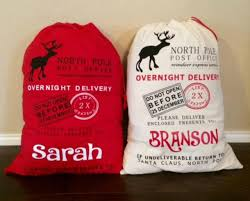 santa sacks 18 for personalized santa sack free shipping 40 certifikid