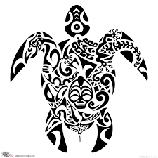 turtle tribal designs free images at clker com vector