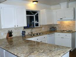 Backsplash With White Kitchen Cabinets Kitchen Sink Backsplash Classic White Kitchen Cabinet Black Brick