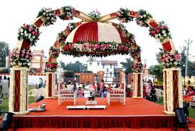 wedding decoration ideas small outdoor indian wedding decorations
