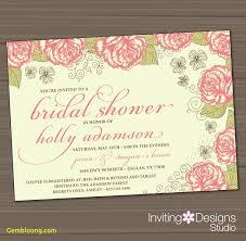 bridal shower invitation template wedding shower invitation templates best templates