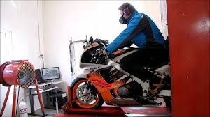 honda cbr 900 rr fireblade 1994 dyno run 111 rear wheel youtube