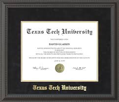 tech diploma frame tech diploma frame with black suede mat gold embossing