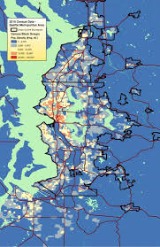 seattle map by county census 2010 seattle metro population density map build the city