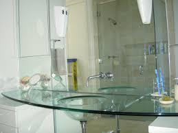 Glass Bathroom Vanity Tops by Under The Sea Bathroom Decor With Glass Shelves Interior Design