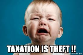 Baby Meme Generator - taxation is theft cry baby meme meme generator