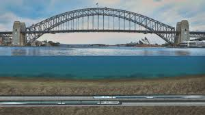 12 billion sydney metro approved to travel under harbour