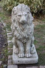 lion garden statue how to create your own narnia inspired secret garden