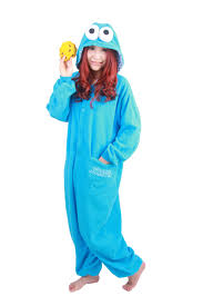 Cookie Monster Halloween Costume Adults Cheap Cookie Monster Onesie Aliexpress Alibaba Group