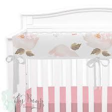 Pastel Crib Bedding Pastel Floral Modern Baby Crib Bedding