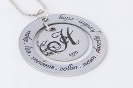 personalized family tree necklace personalized family tree necklace jewelry genealogy monogram