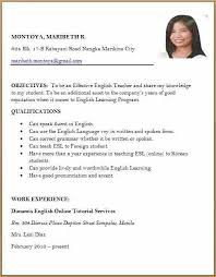 Format Of Best Resume by Resume Examples Format First Job Resume Examples Sample Resume
