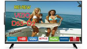 vizio d55 d2 d series 55 inch class full array led smart tv