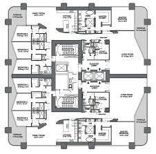 one miami floor plans unit floorplans revealed for zaha hadid s miami condo tower curbed
