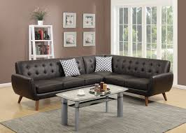 Modern Brown Leather Sofa by Living Room Living Room Charcoal Sectional With Grey Leather