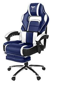 reclining gaming desk chair topsky substantial back racing fashion pu leather executive computer