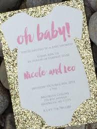baby shower invitation 25 glitter baby shower invitations baby