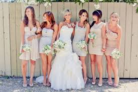 bridesmaid dresses in different colors mn wedding