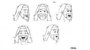 hulk hogan u0027s rock u0027n u0027 wrestling concept sketches photos wwe