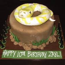 snake reptile on a cake that u0027s my cake